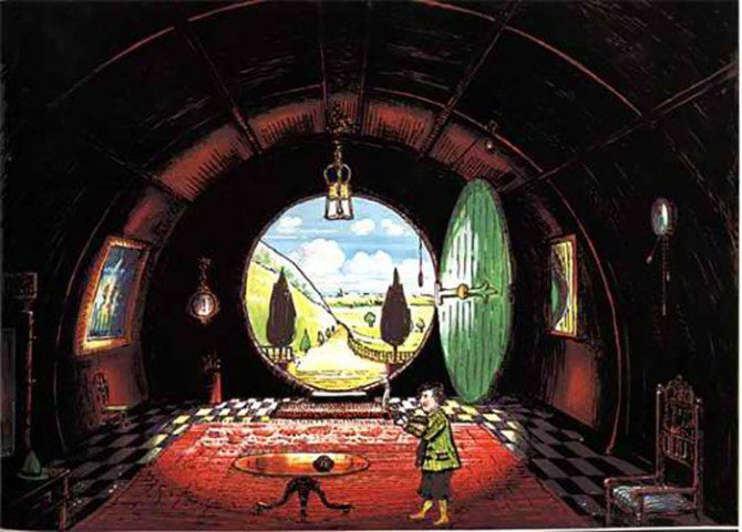 The Hall at Bag-End, Residence of B. Baggins Esquire