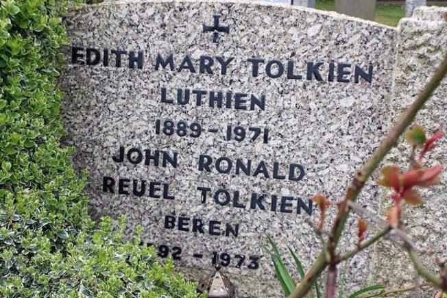 J.R.R. Tolkien tumba