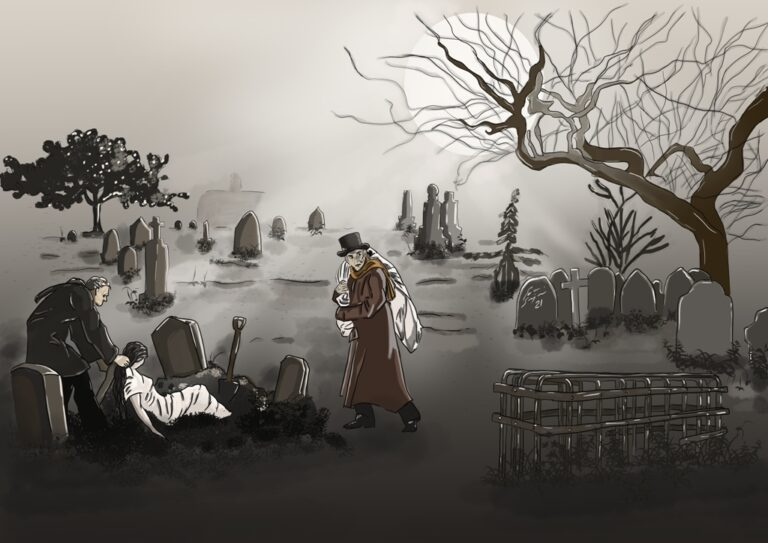 Mortsafe, Resurreccionistas y el robo de cadáveres