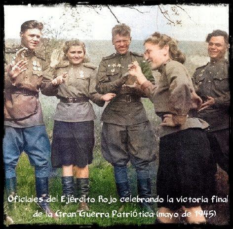 mujeres combatientes Ejército Rojo Gran Guerra Patria Segunda Guerra Mundial