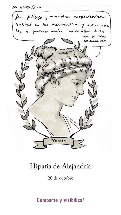 Hipatia de Alejandría filosofa matematica grecia