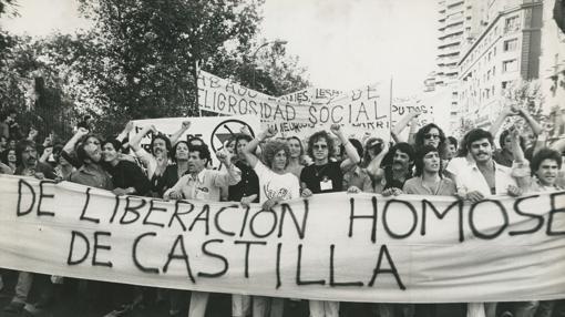 primera manifestación del orgullo LGTB en Madrid