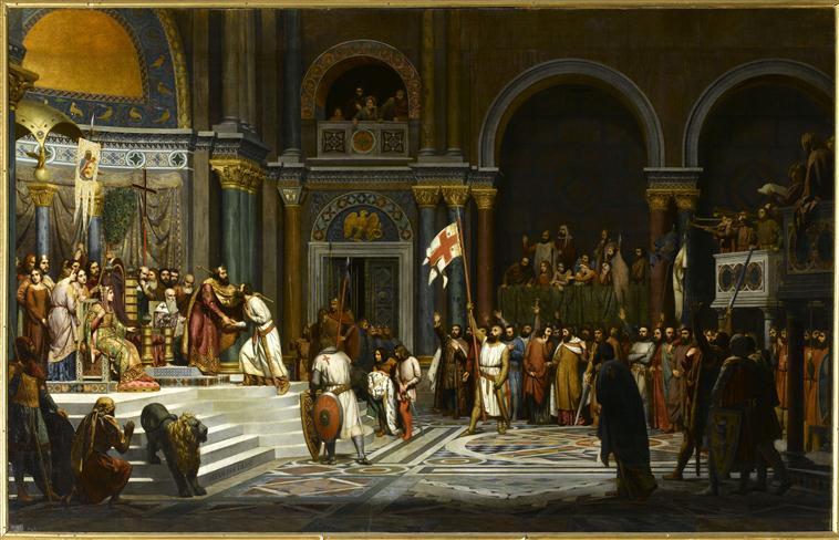 Corte imperial Alejo I Comneno