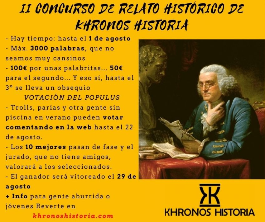 II Concurso de Relato Histórico Khronos Historia