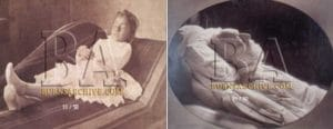 Retratos durmientes fotografía post-mortem