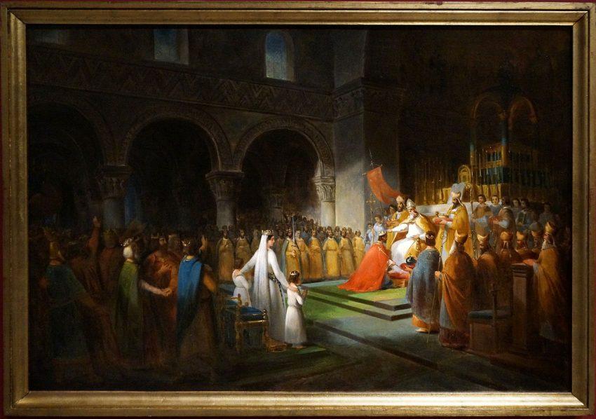 Los merovingios combatieron contra los visigodos y los burgundios para hacerse con el poder.