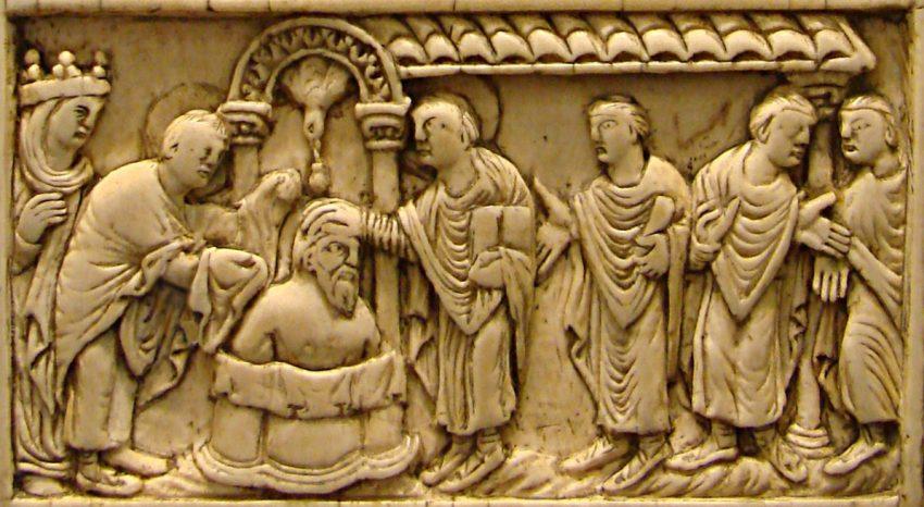 Clodoveo I instituyó la monarquía merovingia.